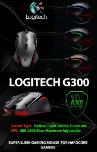 Logitech G300 advert